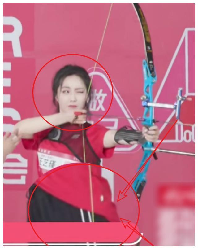 硬糖少女参加射箭比赛,陈卓璇被打脸,王艺瑾射箭姿势引成员模仿