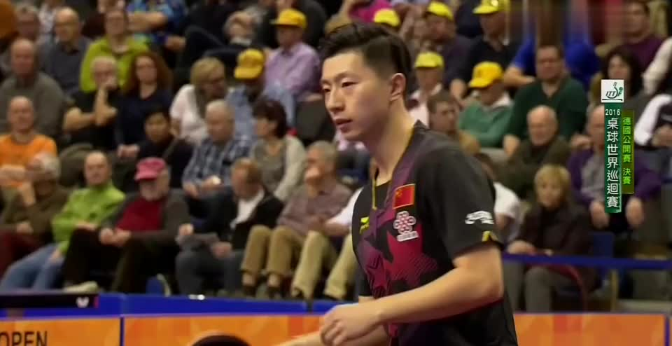 2016年乒乓球德国公开赛 男单冠军赛 马龙~萨姆索诺夫