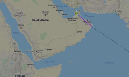 印度快运航空波音737从迪拜抵达卡利卡特时坠毁