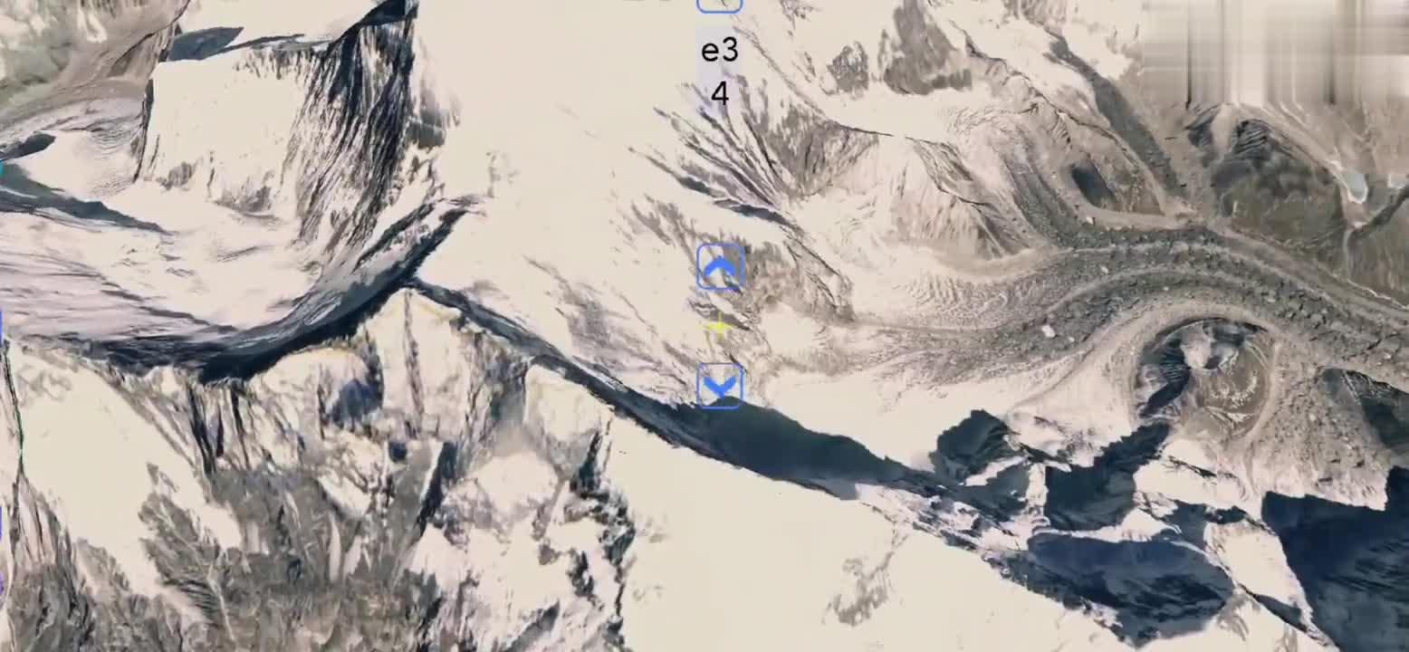 俯看珠穆朗玛峰,才知道全球最高峰,这么险要,这么雄伟