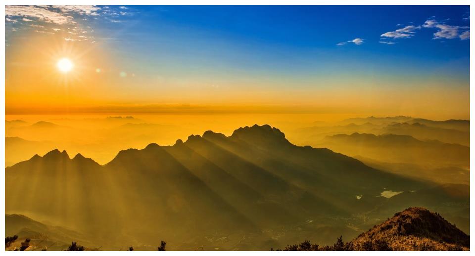 漳州灵通山:山中何所有?岭上多白云