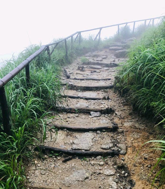 高山万亩草甸,云山雾绕栈道,户外运动者的圣地江西武功山
