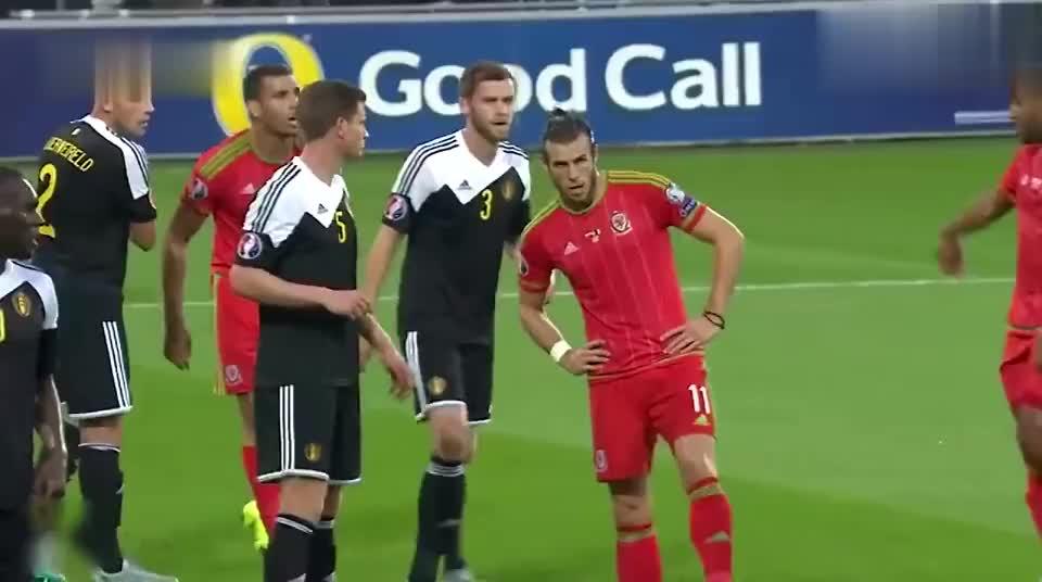 回顾贝尔对比利时经典入球 禁区潇洒停球绝杀对手