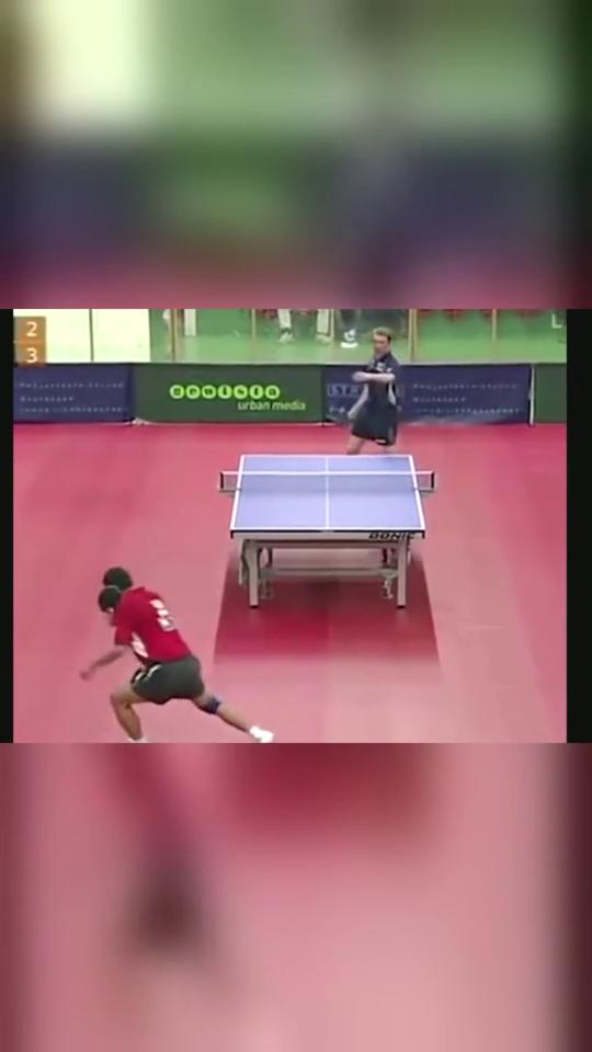 乒乓球:嚣张的施拉格,对手被打服了!这下老实了!