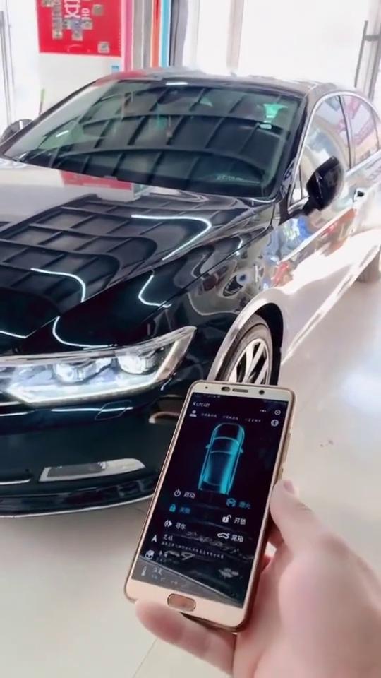 大众迈腾手机远程启动,无限距离手机控制车辆,真的是太先进了啊