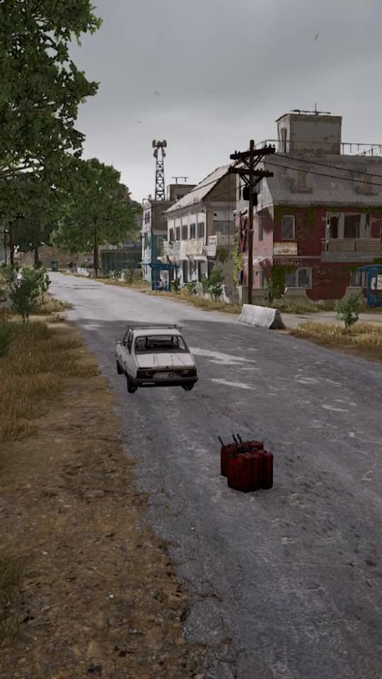 绝地求生:汽车下面竟然藏了这么多汽油桶