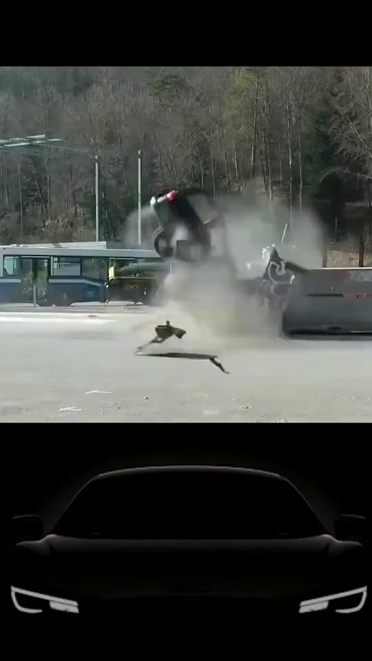 迈的汽车碰撞,无人生还的恐怖破坏力。开车慢一点范哥说车
