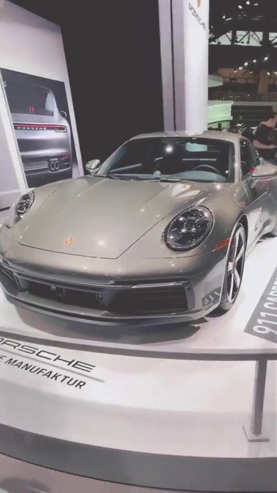 视频:全新一代保时捷911跑车,感觉并没有太大的变化