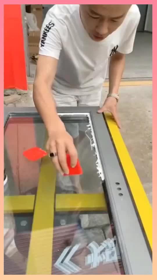 玻璃胶打不好不用愁有了这个刮胶板轻松变成打胶高手