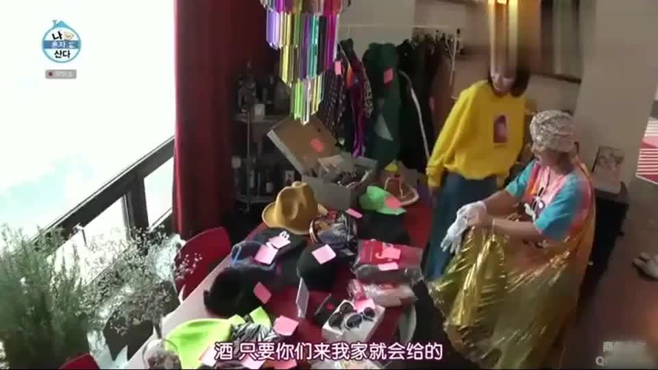 韩国节目:朴娜莱卖的东西太贵,林秀香用撒娇砍价,花20万买了