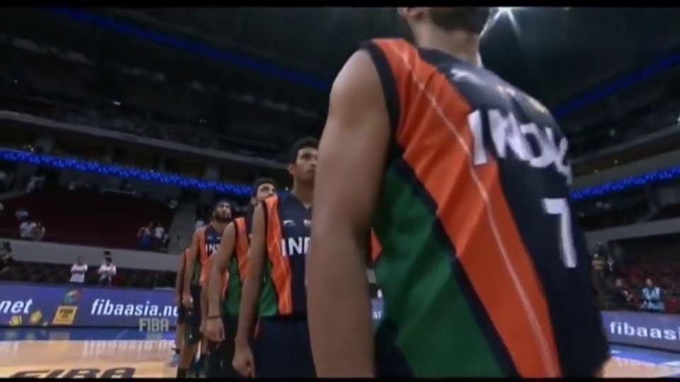 篮球世界杯,中国男篮吊打印度男篮,看的真是爽啊
