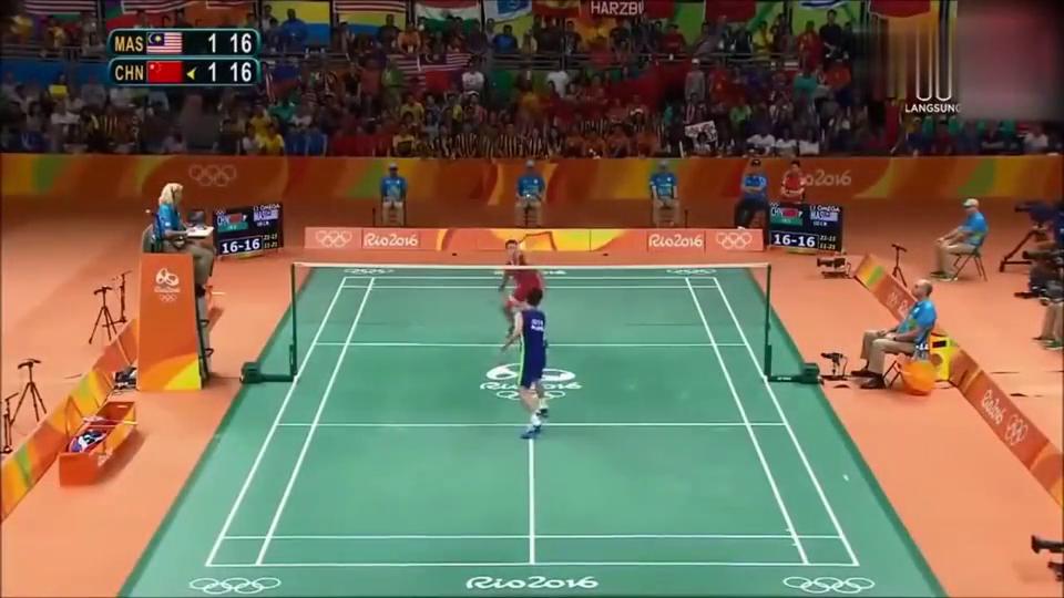 里约奥运会林丹李宗伟巅峰对决!最后3分钟
