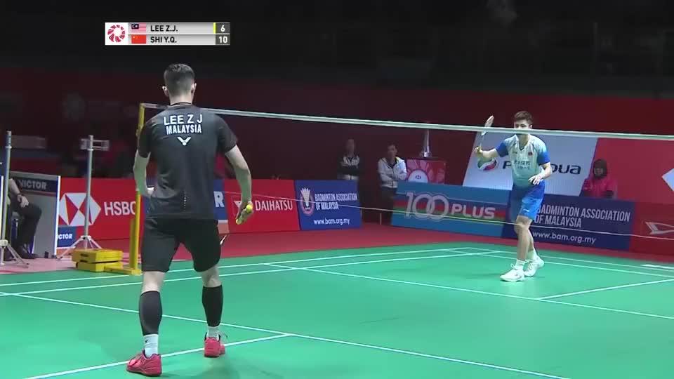 国羽石宇奇 VS 大马李梓嘉,2020马来西亚公开赛!