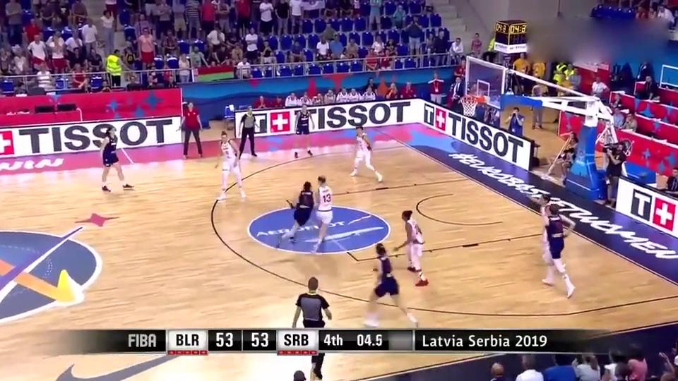 女篮欧洲杯开打塞尔维亚女篮首场就来刺激绝杀白俄罗斯遗憾败北