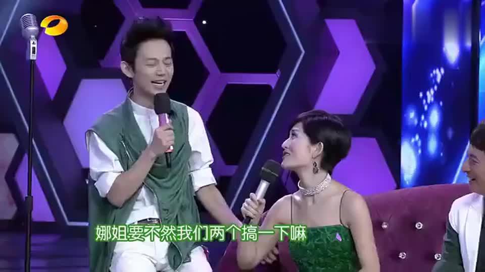 谢娜和孙艺洲真厉害,用四川话飙歌,台下的何炅陈赫美嘉都笑趴了