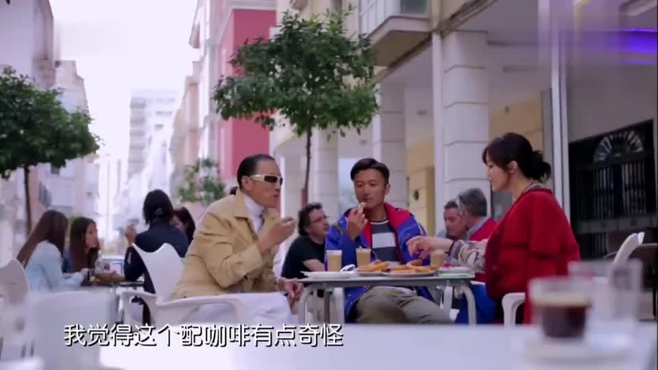 谢霆锋表示油条应该配牛肉粥,谢贤:你命好,我都是白粥