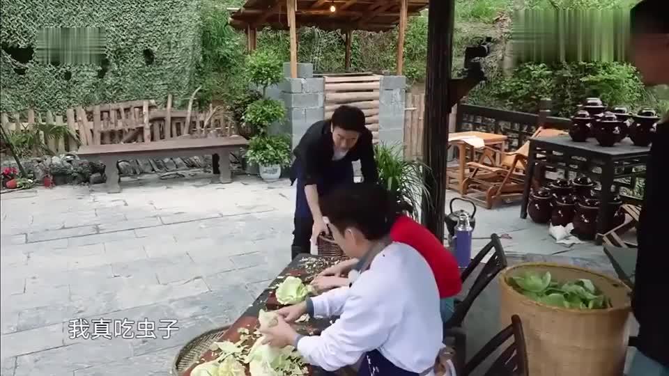 黄磊要给王太利做黑暗料理虫子宴,何炅吐槽:虫子也不放过