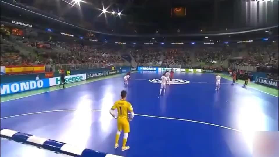 精彩室内足球 欧洲杯决赛 西班牙VS葡萄牙,葡萄牙夺冠精彩集锦