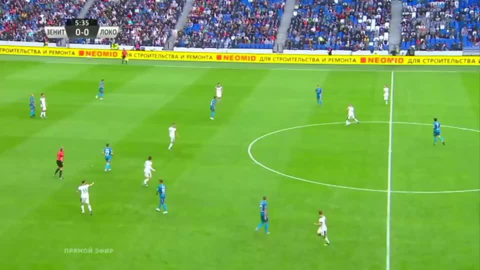 俄罗斯超级杯 -莫斯科火车头队3 -2击败圣彼得堡泽尼特队