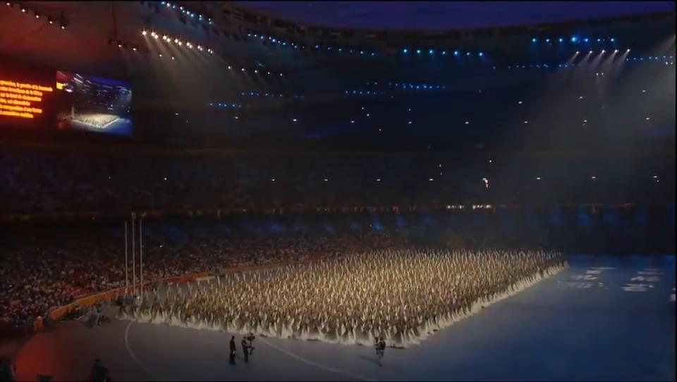 奥运会开幕式这7分钟,让美国人被中国文化所深深的吸引