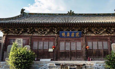 彩塑的瑰宝的寺庙,国家级文物,山西省定襄县洪福寺