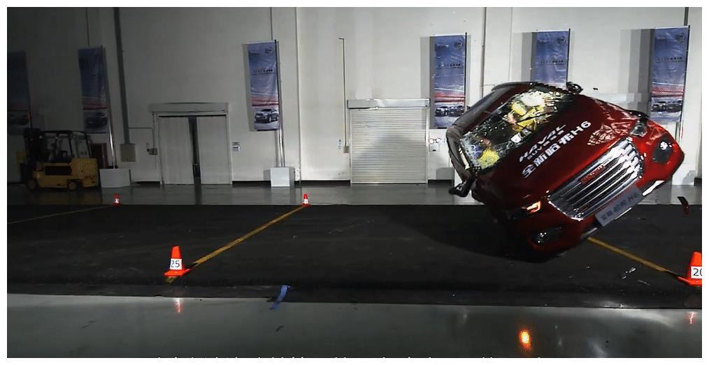 哈弗H6的安全性啪啪打脸合资车!