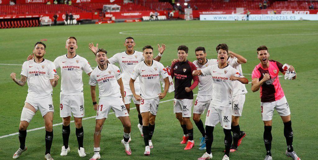 奥坎波斯传射+费尔南多破门,西甲重启首战塞维利亚2-0皇家贝蒂斯