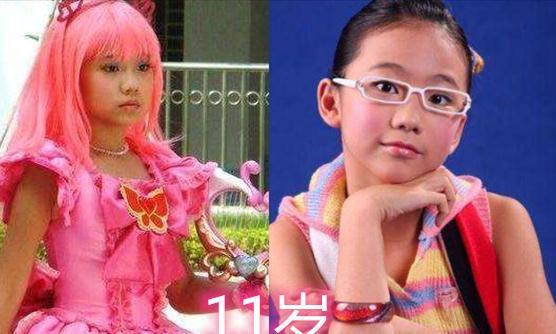 """""""小魔仙""""拍摄时演员年龄,美雪11岁,严莉莉17岁"""
