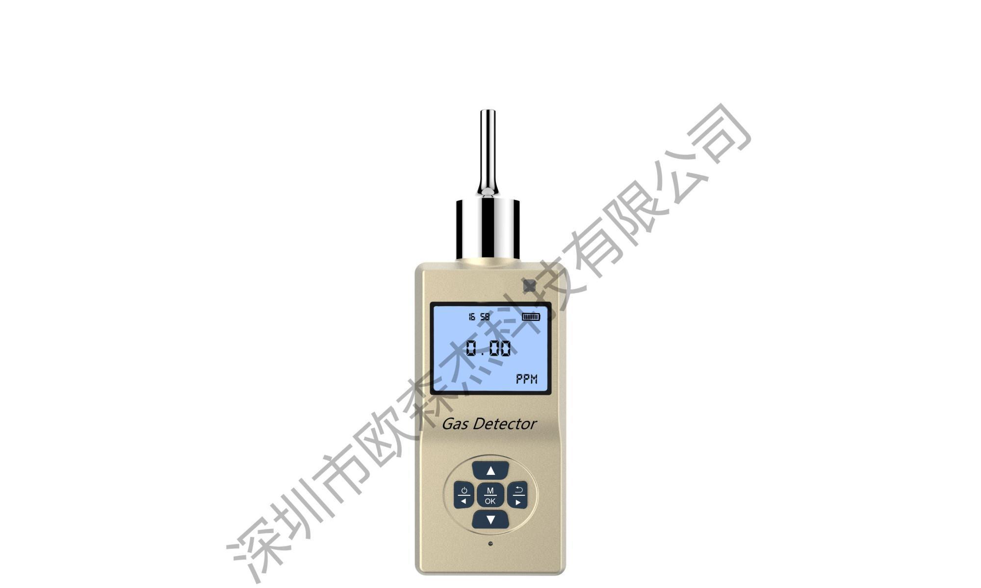 手表式气体检测仪检测氧气硫化氢