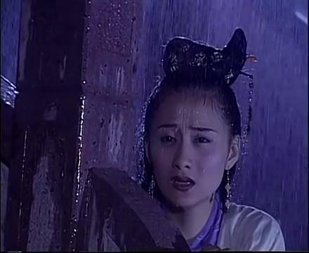 绝代双骄:花无缺和女友闹矛盾,女友在雨中照顾他一夜,感动认错