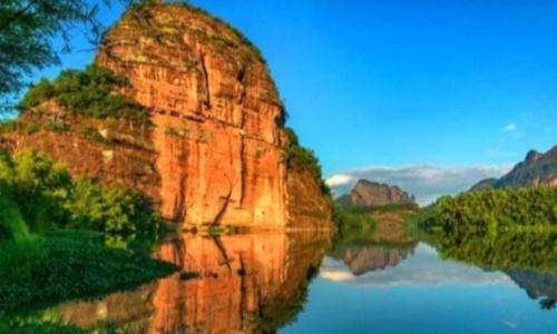 中国最美五大丹霞地貌,南方占了3个,北方仅占2个!
