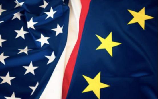 吹响反击号角!欧盟27国率先对美科技巨头出手,中国紧随其后