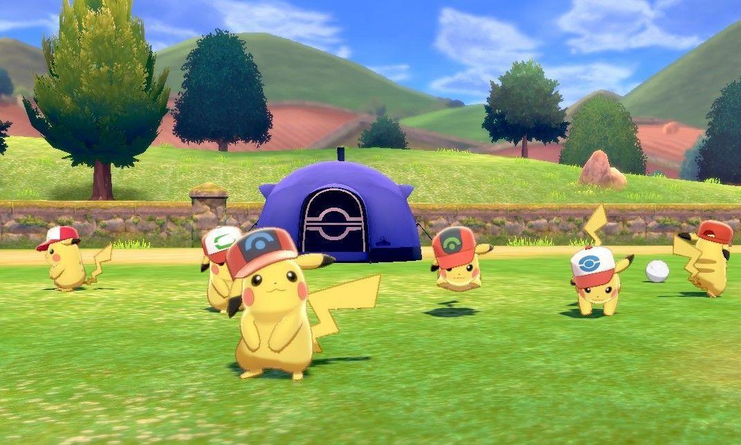 《宝可梦剑盾》8只戴帽子的皮卡丘密语全公布