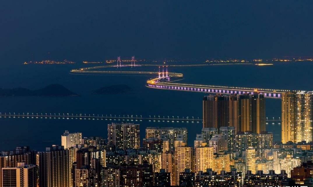 中国四大跨海大桥,三座位于南方,还有一座在山东!