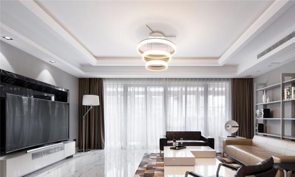 现代风格三居室如何装修,125平米的房子这样装才阔气!-仁恒