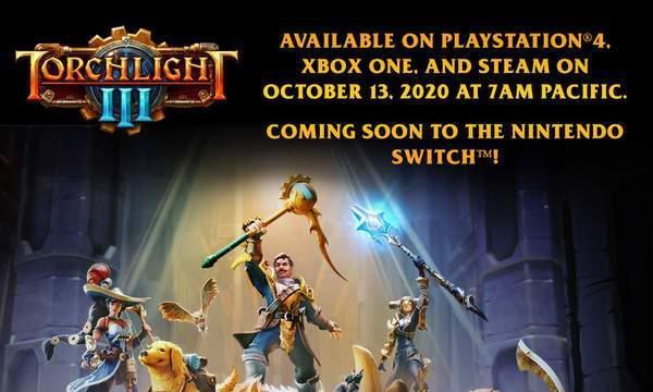 《火炬之光3》正式版10月上线Steam抢先版褒贬不一