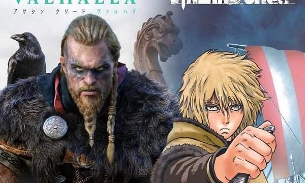 《刺客信条:英灵殿》X《冰海战记》联动漫画试读预览