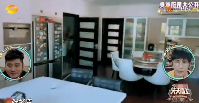 吴尊家的厨房比客厅还要大,家里还有专门冷藏室,不愧是文莱王子