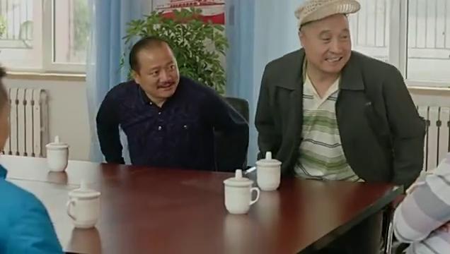 老徐集结村民开会,让老宋和谢广坤给小双道歉