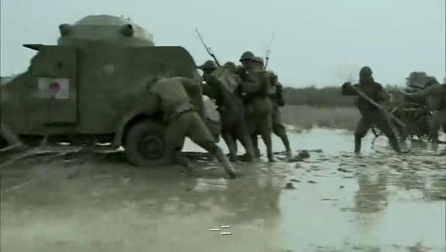 长沙保卫战:因暴雨日本装甲车重装备没办法行进,冈村宁次慌了
