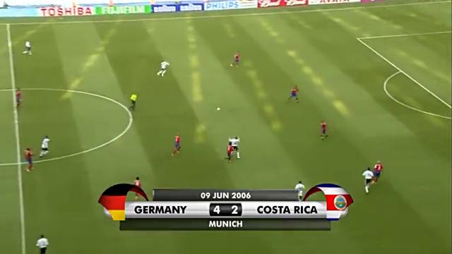 2006年世界杯德国VS哥斯达黎加进球