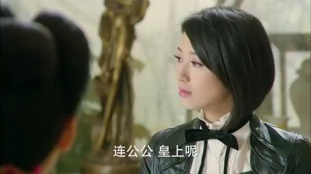 王爷带回一个日本媳妇,皇后凤冠霞帔接见她,当场惊艳日本弟媳!