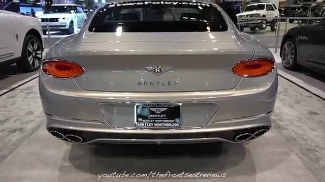 这款宾利欧陆GT,样子十分华丽!