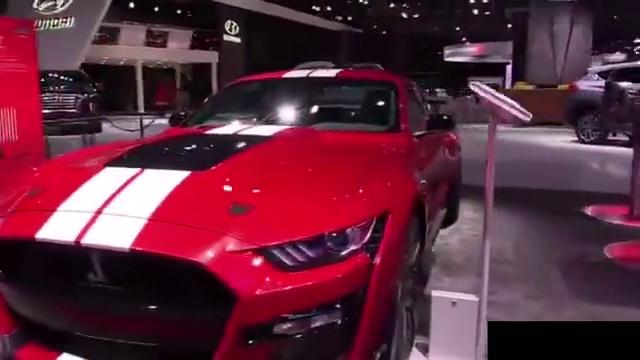 福特野马ShelbyGT500-外观和内部展示,纽约车展