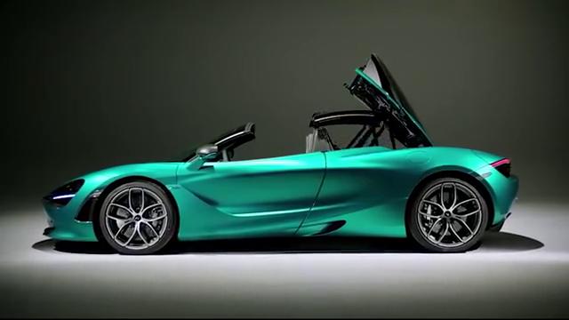 迈凯伦新车掀背跑车静态动态混剪路上最快