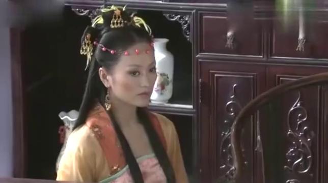 梅儿穿了件漂亮的衣裳去见皇上真是美若西施!