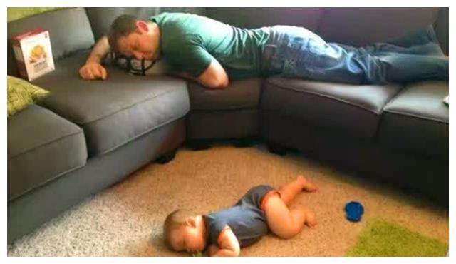 孩子的4种睡姿,暗示着不同的性格,如果是第1种,那恭喜你
