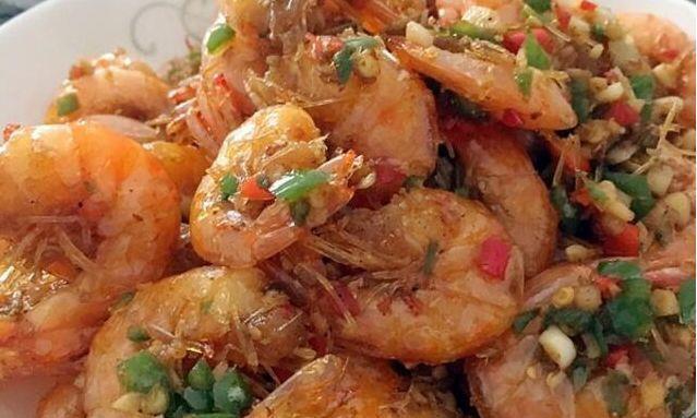 美食严选:椒盐虾,韭菜胡萝卜炒鸡蛋,豉汁凤爪,酸豆角炒肉做法