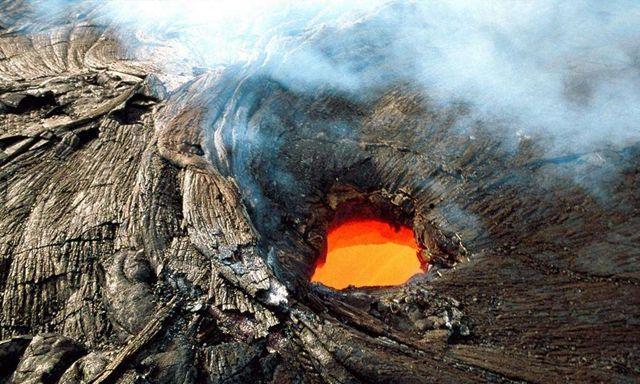 世界上丢失尊严的火山,温度高达600℃,却被人当成火炉烤食物