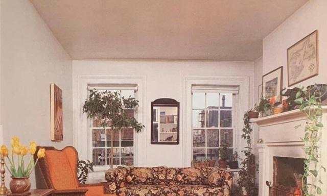 复古风格的家居装修设计参考,颜色看起来超舒适